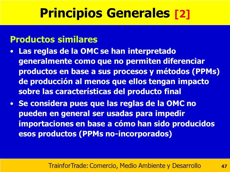 Principios Generales [2]